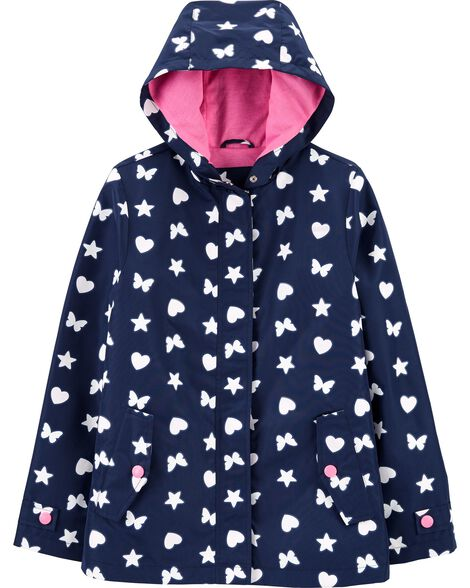 Butterly Colour-Changing Raincoat
