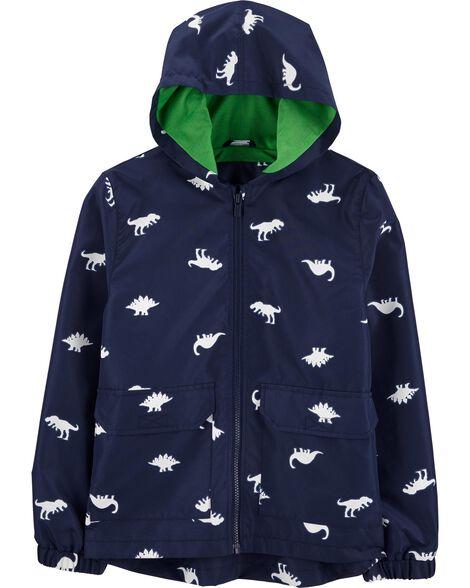 Dinosaur Colour-Changing Raincoat