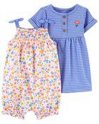 2-Pack Romper & Dress Set, , hi-res