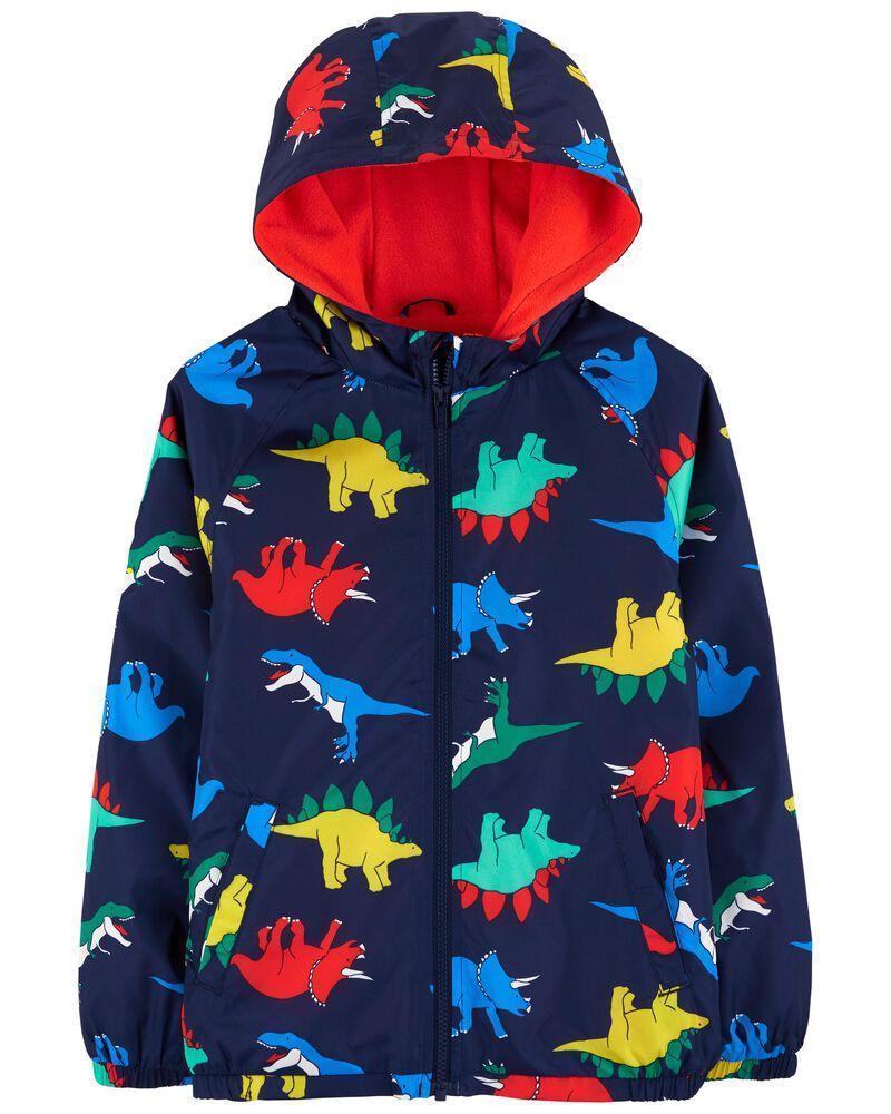 Coupe-vent à dinosaures doublé de jersey , , hi-res