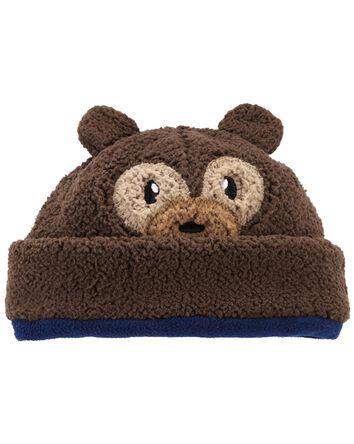 2-Piece Sherpa Hat & Mittens Set