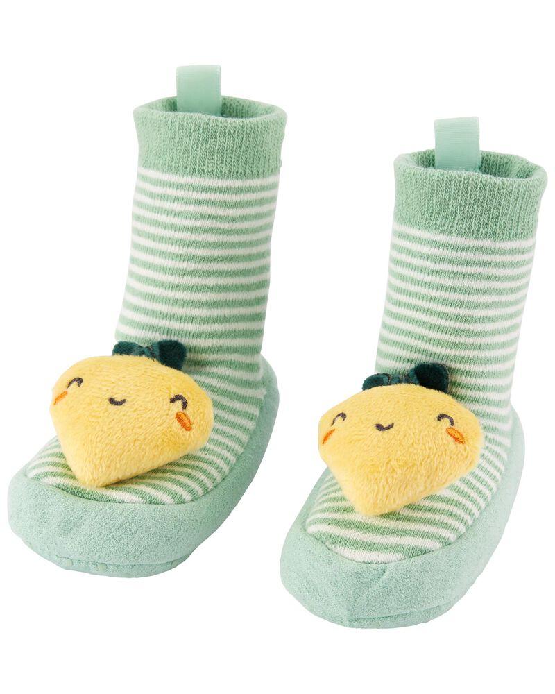 Baby Slipper Socks, , hi-res