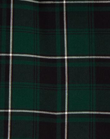 Haut des Fêtes à motif écossais