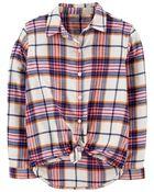 Brushed Flannel Shirt, , hi-res