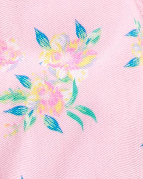 Floral Shortalls