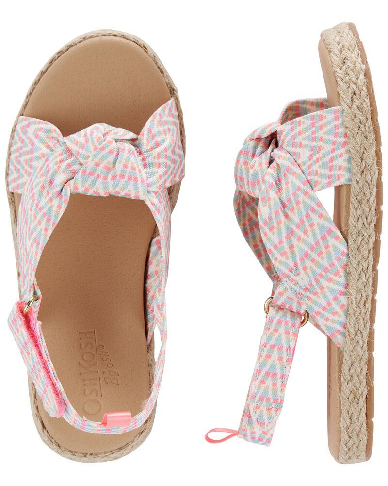 Knot Bow Sandals, , hi-res
