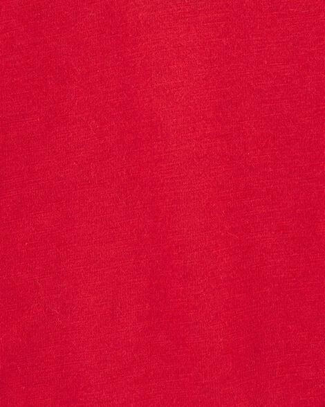 Cache-couche henley chiné de couleurs contrastantes