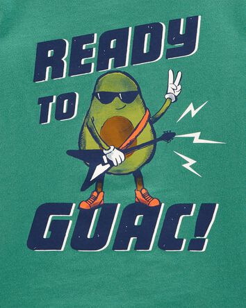 T-shirt en jersey Guacamole