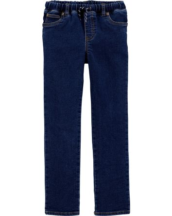 Pull-On Denim Pants