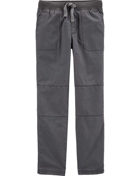 Pull-On Reinforced Knee Pants