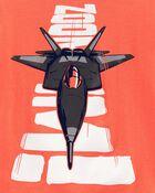 T-shirt en jersey Jet, , hi-res