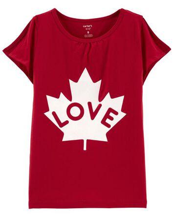 T-shirt Canada Day Love