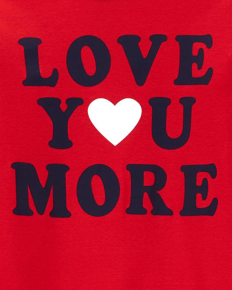 2-Piece Adult Unisex Valentine's 100% Snug Fit Cotton PJs, , hi-res