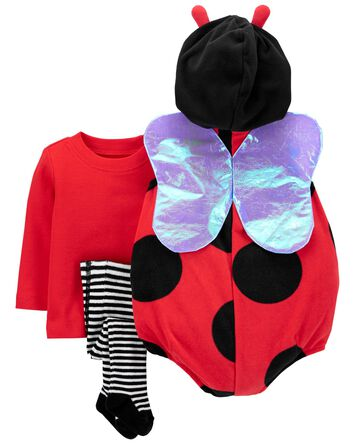 Costume d'Halloween p'tite coccinel...