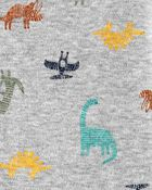 Dinosaur Snap-Up Cotton Sleep & Play, , hi-res