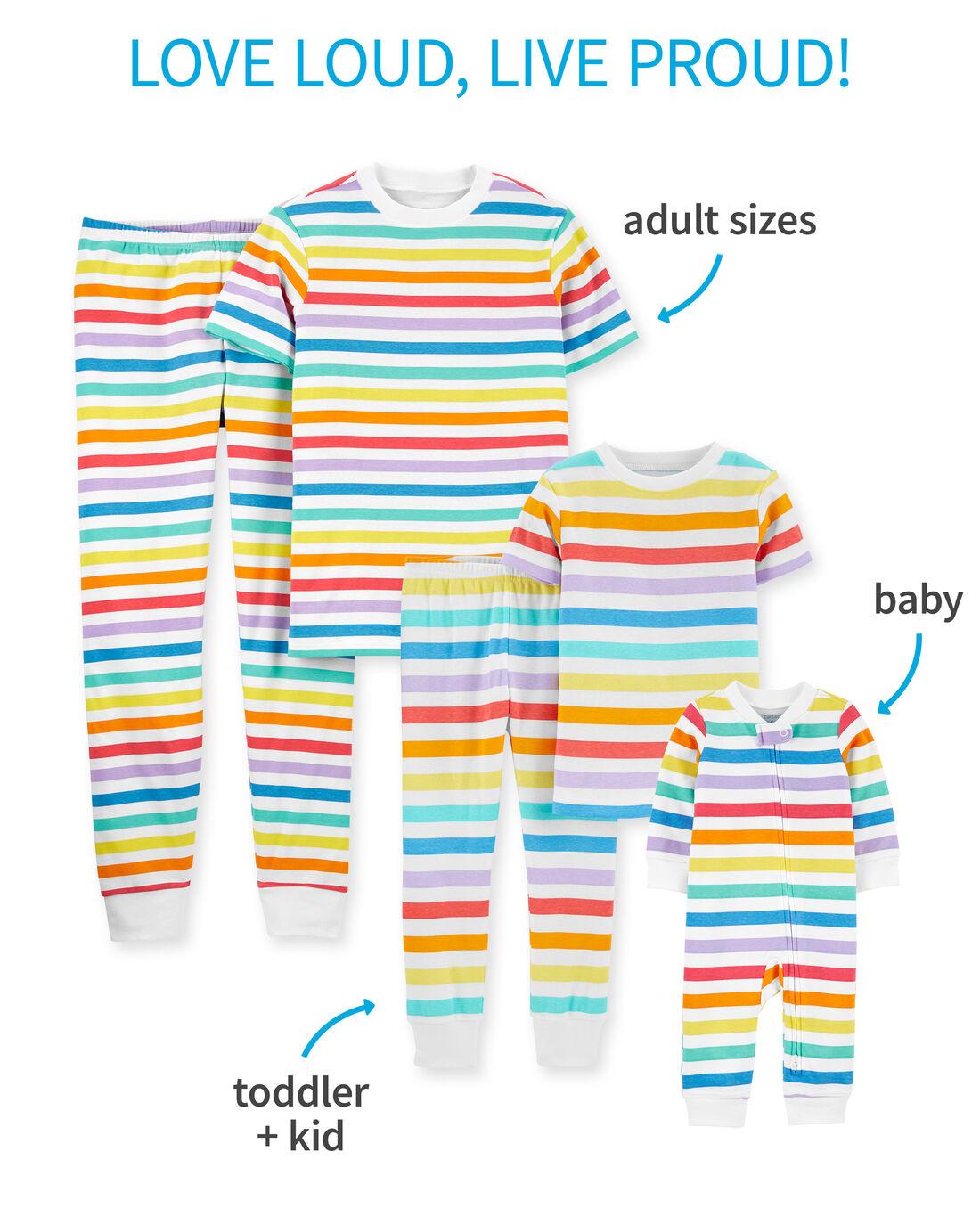 car_S21_FamilyMatching_RainbowPjs, , hi-res