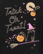 Ensemble 2 pièces t-shirt Trick Or Treat et legging d'Halloween, , hi-res