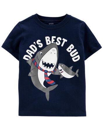Dad Shark Jersey Tee