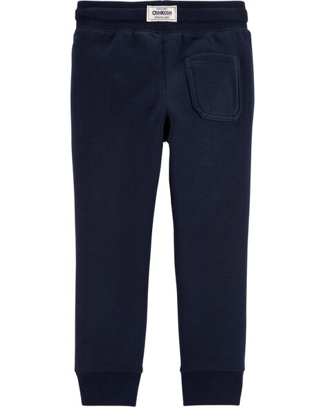 Pantalon molletonné à logo