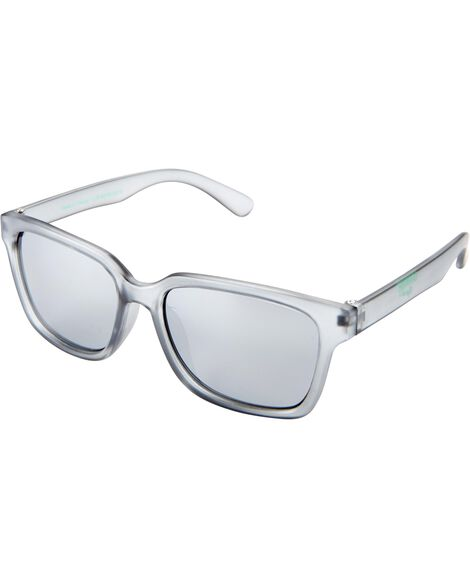 Grey Square Sunglasses