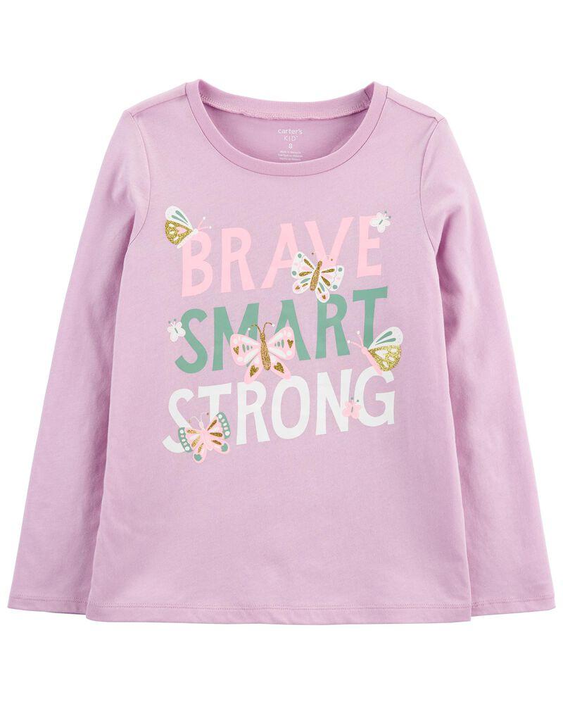 T-shirt en jersey Brave, , hi-res