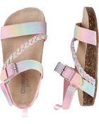Rainbow Buckle Sandals, , hi-res