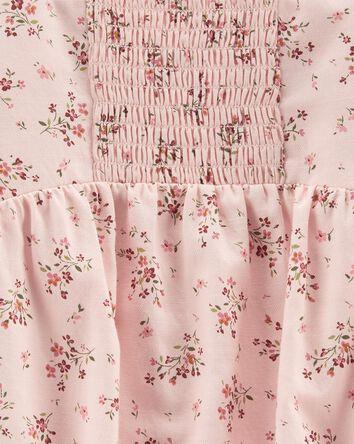 Floral Square-Neck Bodysuit