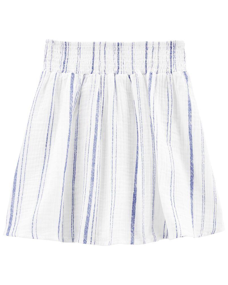 Tween Gauze Pleated Skirt, , hi-res