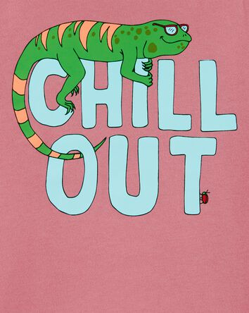 Chill Out Lizard Jersey Tee
