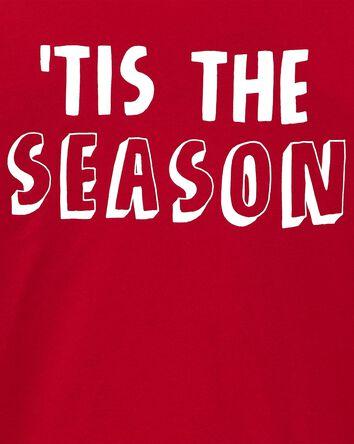 T-shirt en jersey des fêtes 'Tis Th...