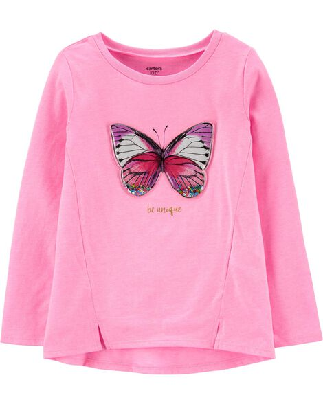 Neon Interactive Butterfly Top
