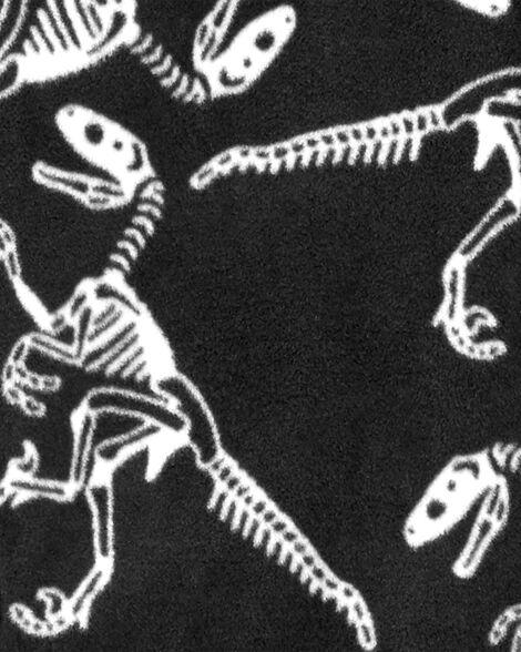 Haut en molleton à dinosaure