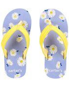 Sandales de plage à marguerites, , hi-res