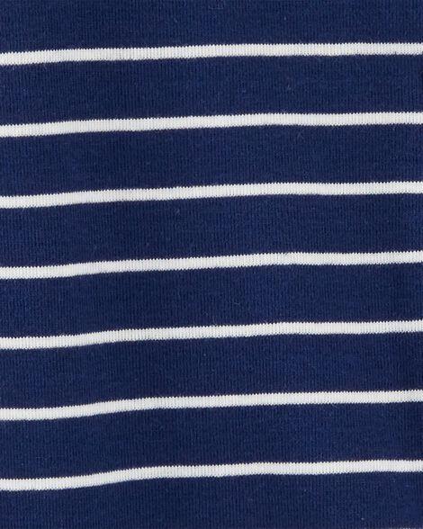 Pyjama 1 pièce sans pieds en coton ajusté à motif goéland