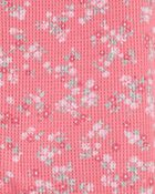 1-Piece Floral 100% Snug Fit Cotton Footie PJs, , hi-res