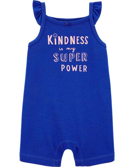 Kindness Cotton Romper