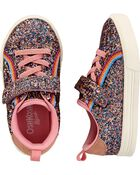 Rainbow Glitter Sneakers, , hi-res
