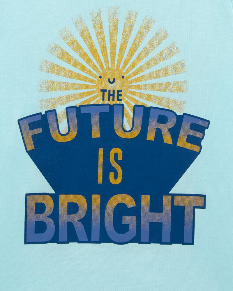 T-shirt en jersey Future is Bright, , hi-res