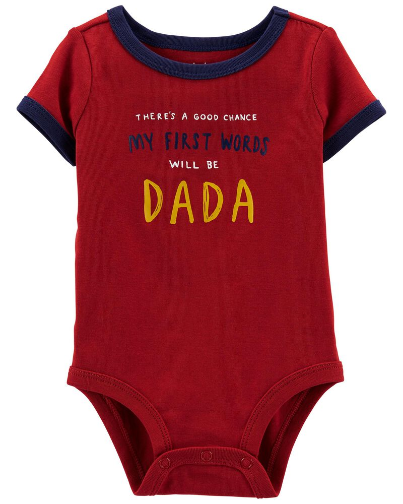Dad Short-Sleeve Bodysuit, , hi-res