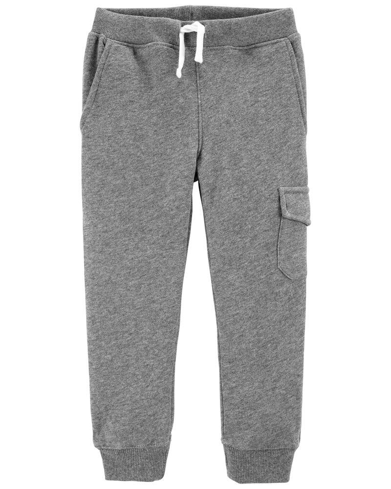 Pantalon de jogging à enfiler avec poches cargo, , hi-res