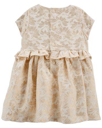 Robe à motif jacquard floral pour l...