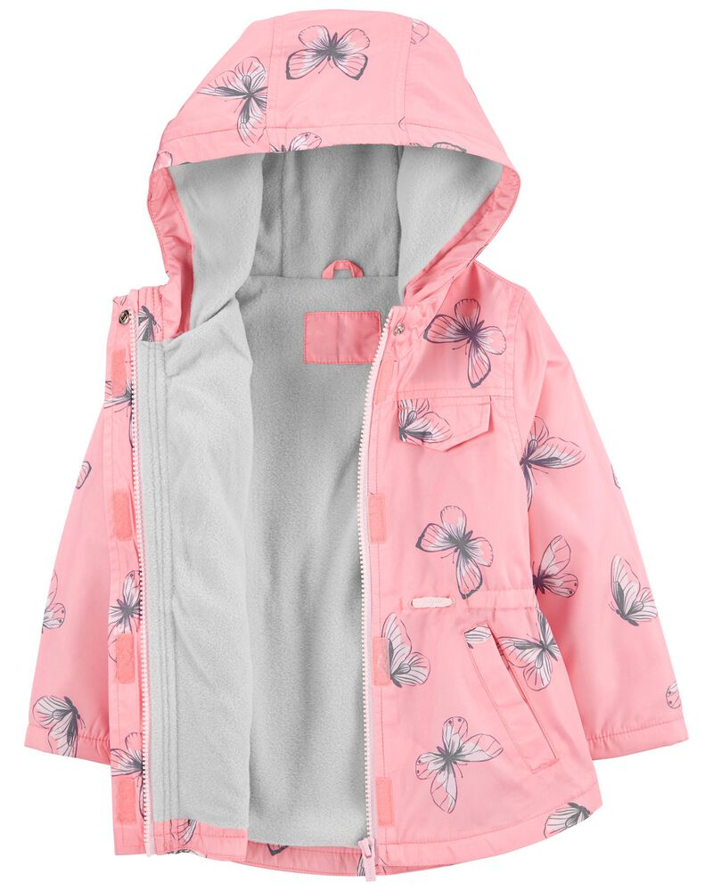 Butterfly Fleece-Lined Anorak Jacket, , hi-res