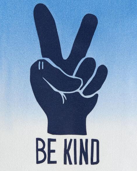 Be Kind Dip-Dye Sweatshirt