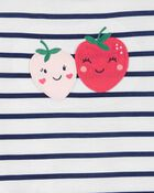 Pyjama 3 pièces de coupe ample à fraise, , hi-res