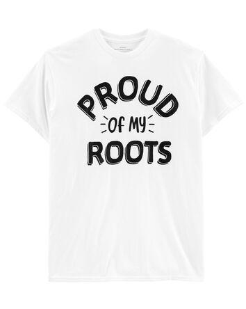 T-shirt de famille pour adulte Prou...