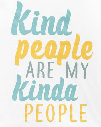 Kind People Jersey Tee