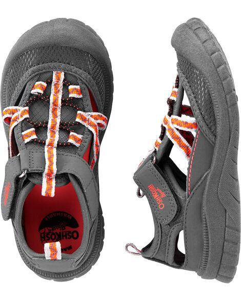 OshKosh Grey Bump Toe Sandals