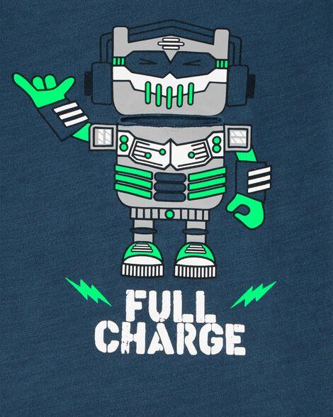 T-shirt à robot