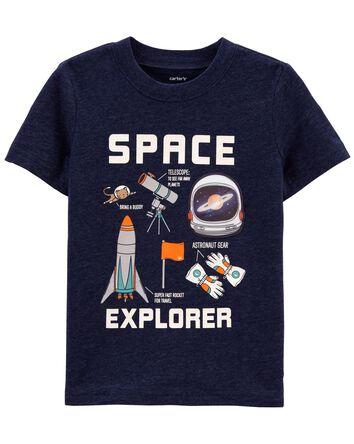 T-shirt en jersey Espace