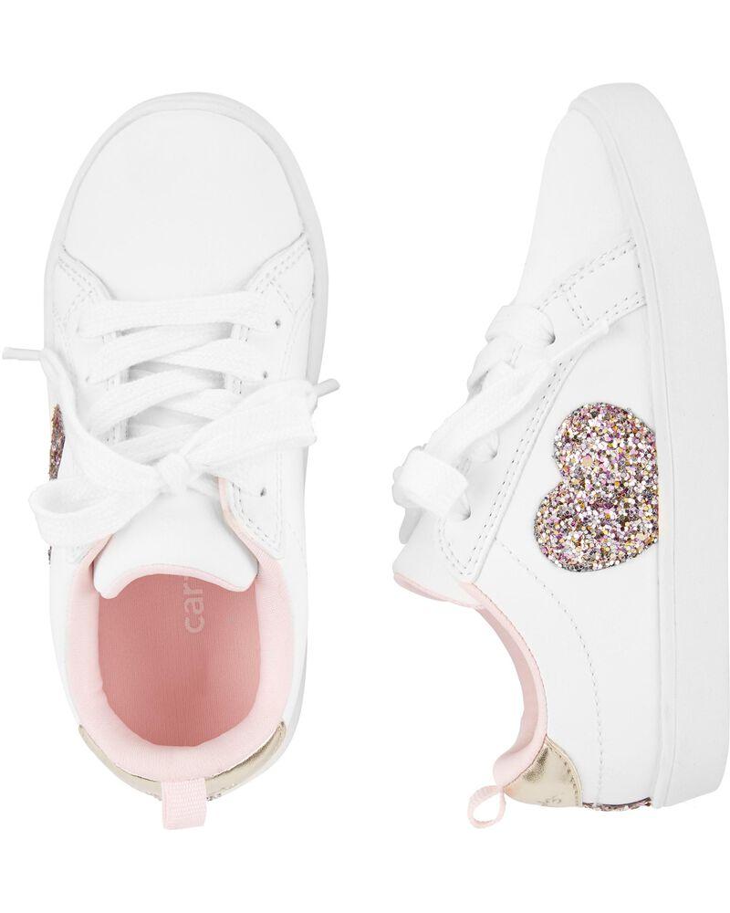 Heart Casual Sneakers, , hi-res